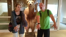 ..és egy medve a lobbiban. Cuz why not, that's why.